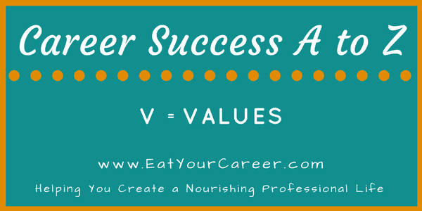 Career Success A to Z-Values