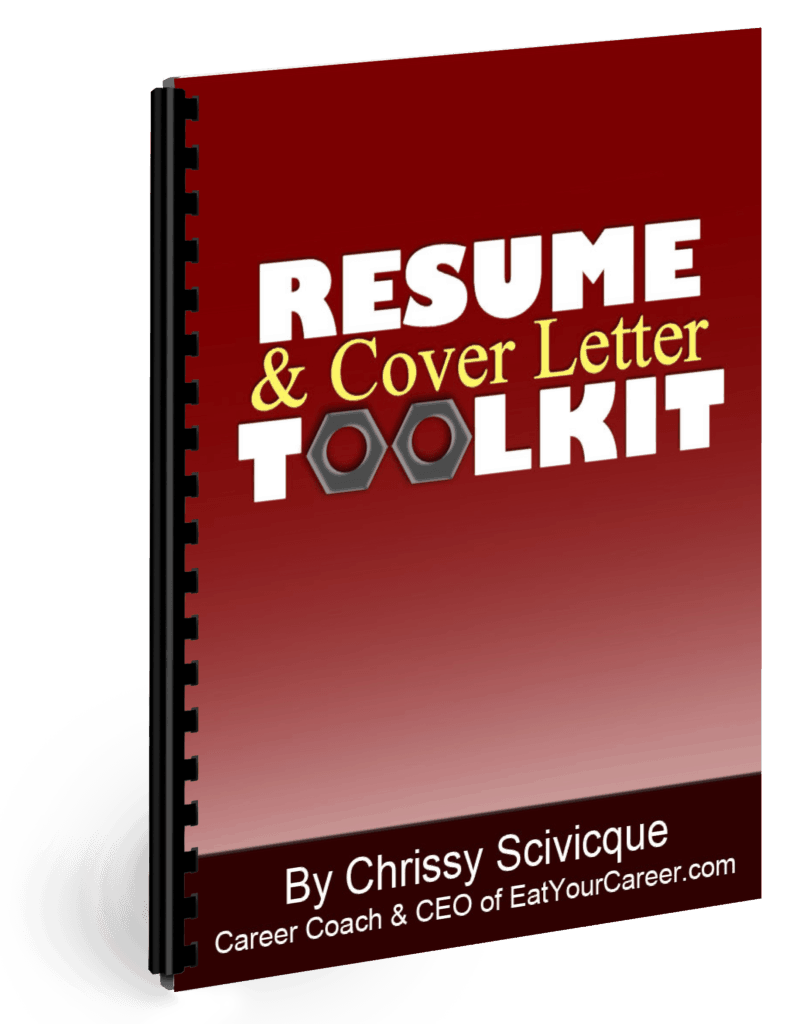resume  u0026 cover letter toolkit