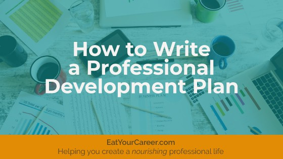 How to Write a Professional Development Plan